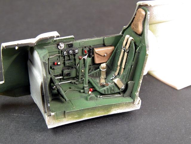 P-40F/L Cockpit Review by Brett Green (Cutting Edge 1/48)